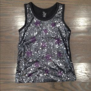 girl's sequin tank